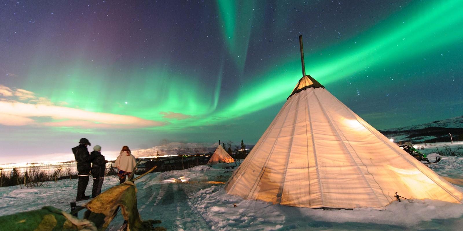 Northern Lights gourmet evening