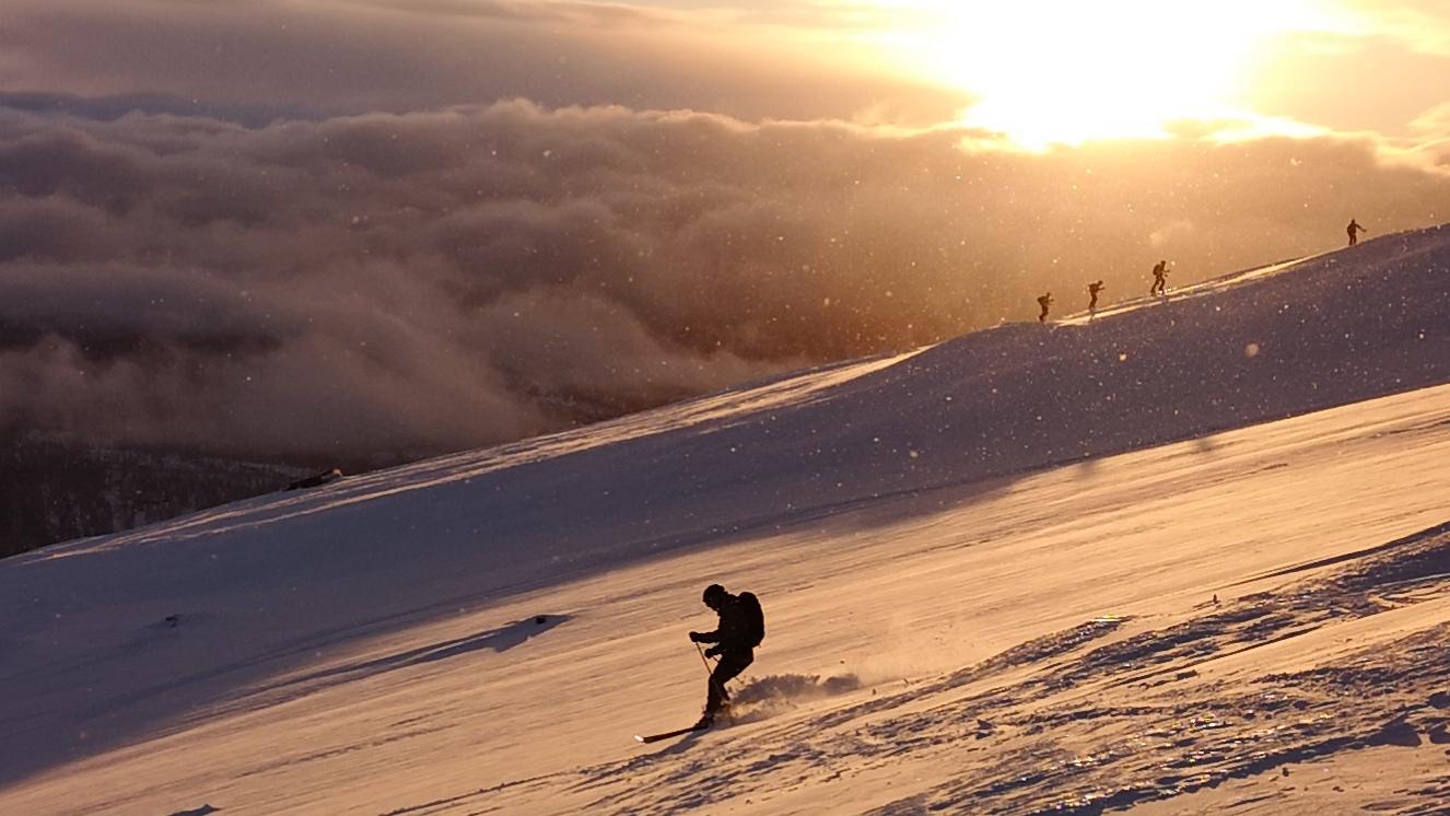 Skiing Mo I Rana