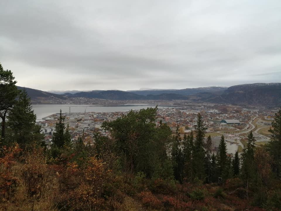 Guided hike to Appelsinhaugen